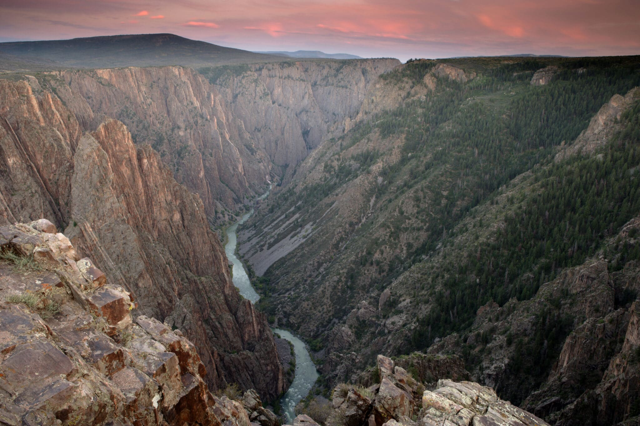image of black canyon of the gunnison