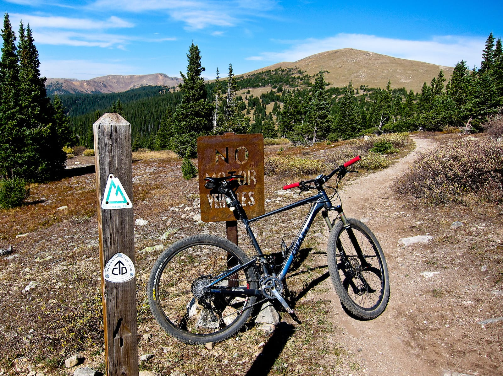 Mountain Biking, Breckenridge, Colorado