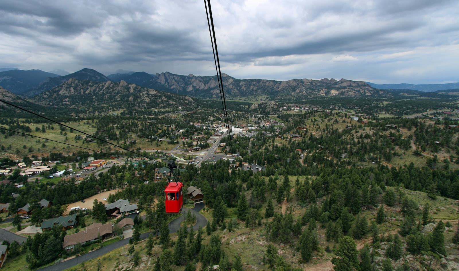 Estes Park Aerial Tramway, CO