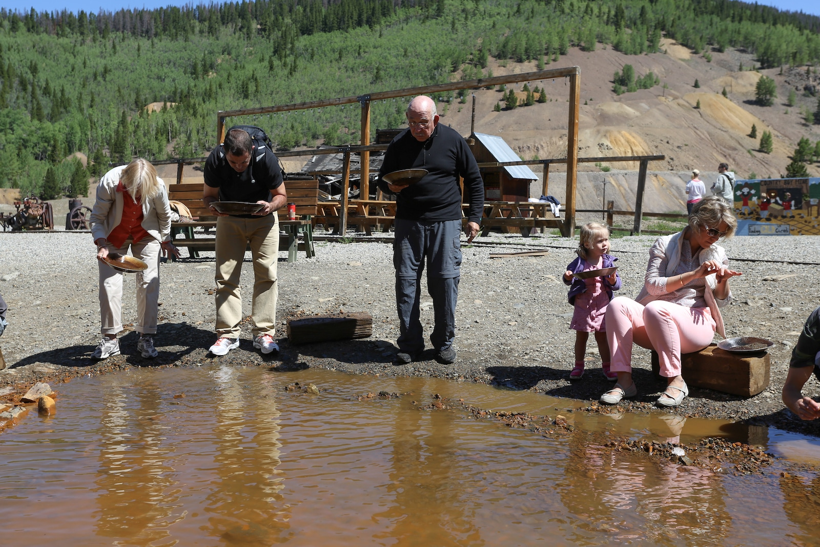 Gold Panning, Breckenridge