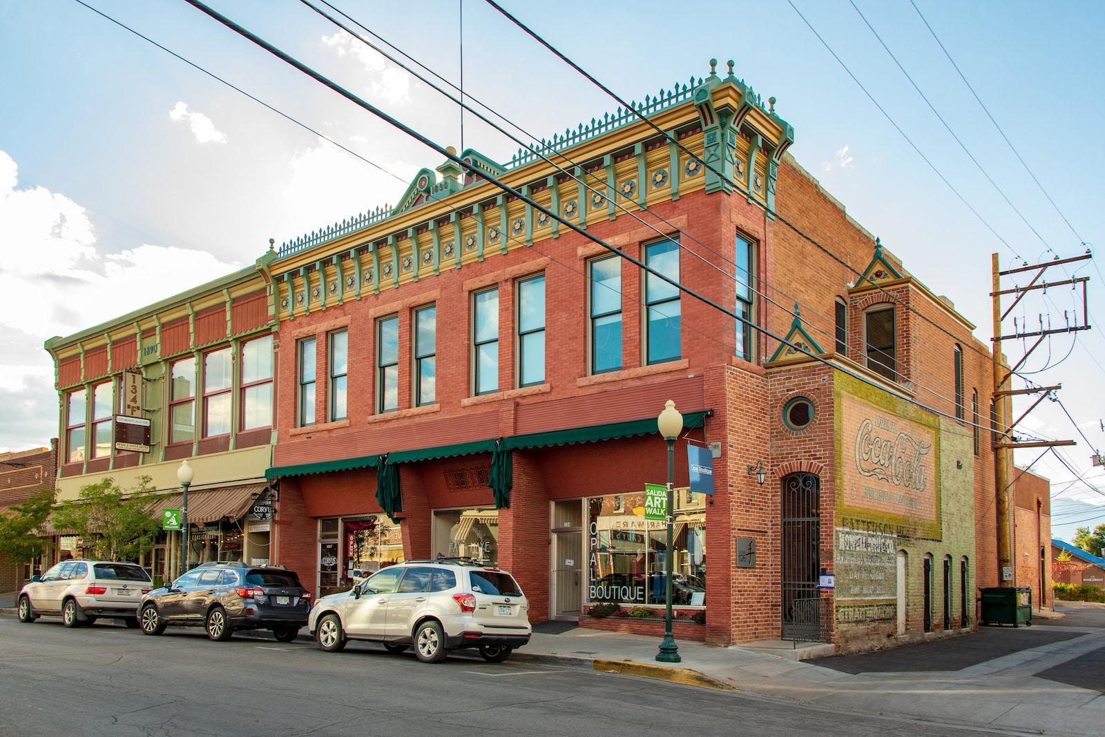 Historic downtown Salida