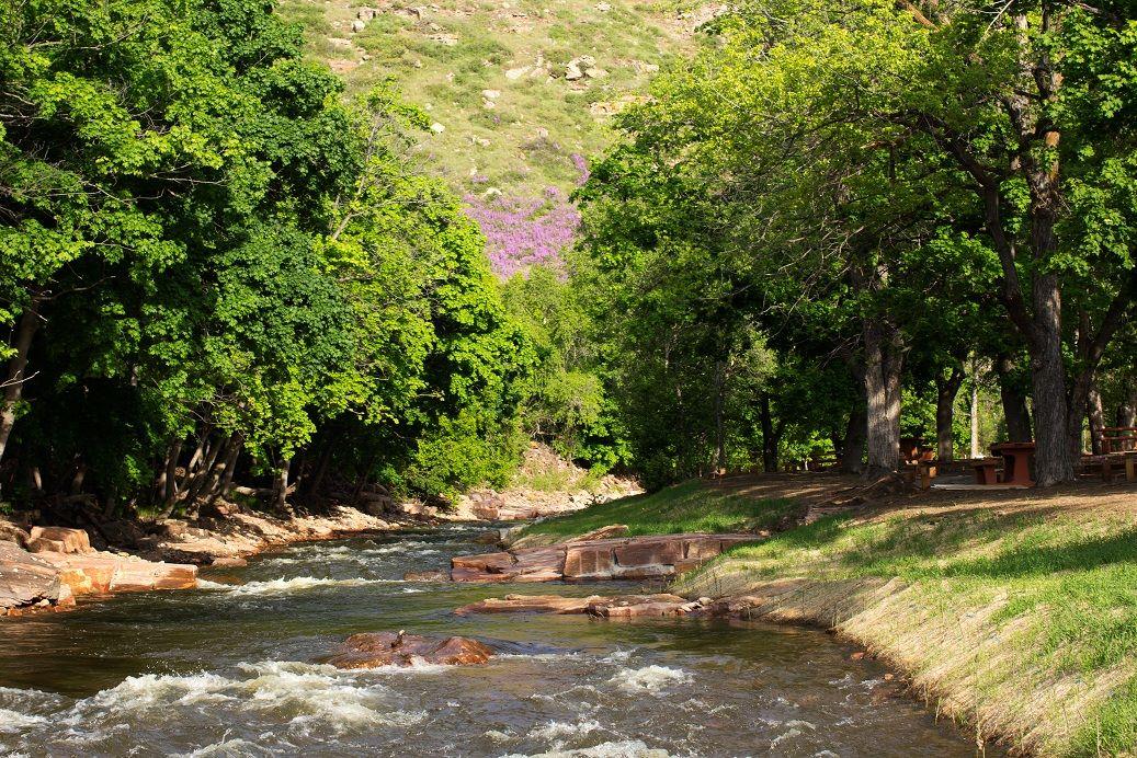 image of north saint vrain creek