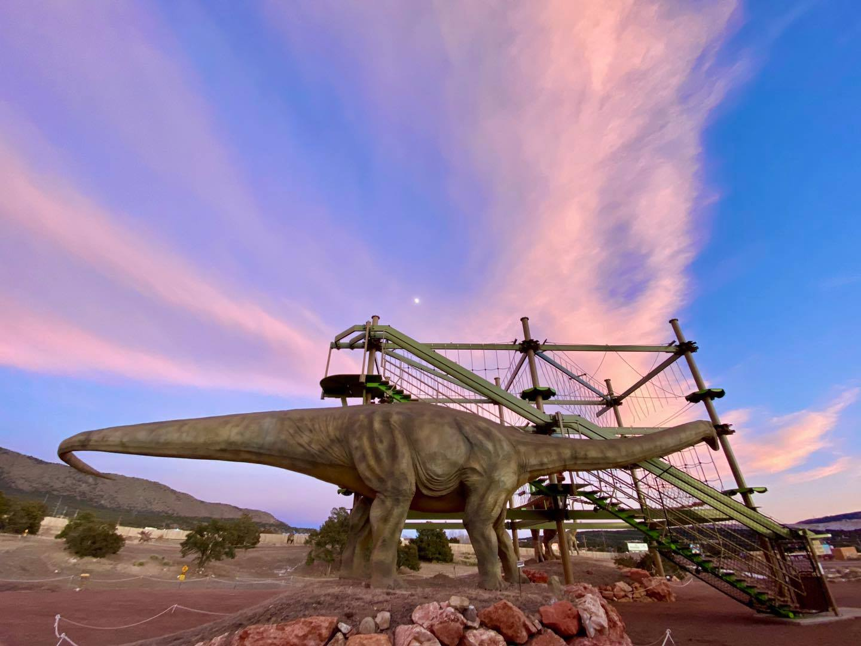 Pengalaman Dinosaurus Royal Gorge, CO