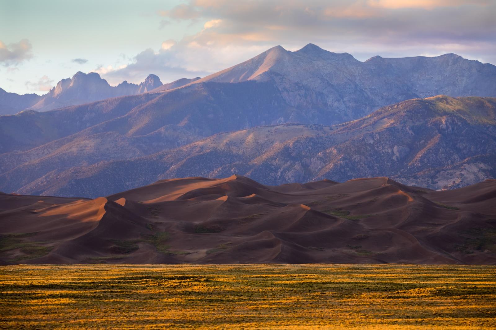 Lembah San Luis, CO