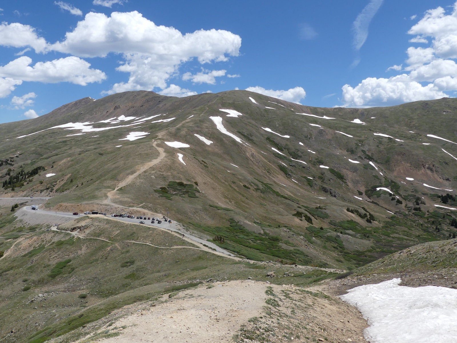 West Ridge trail, colorado