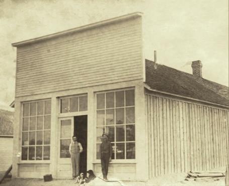 White River City 1888 Springtime Storefront