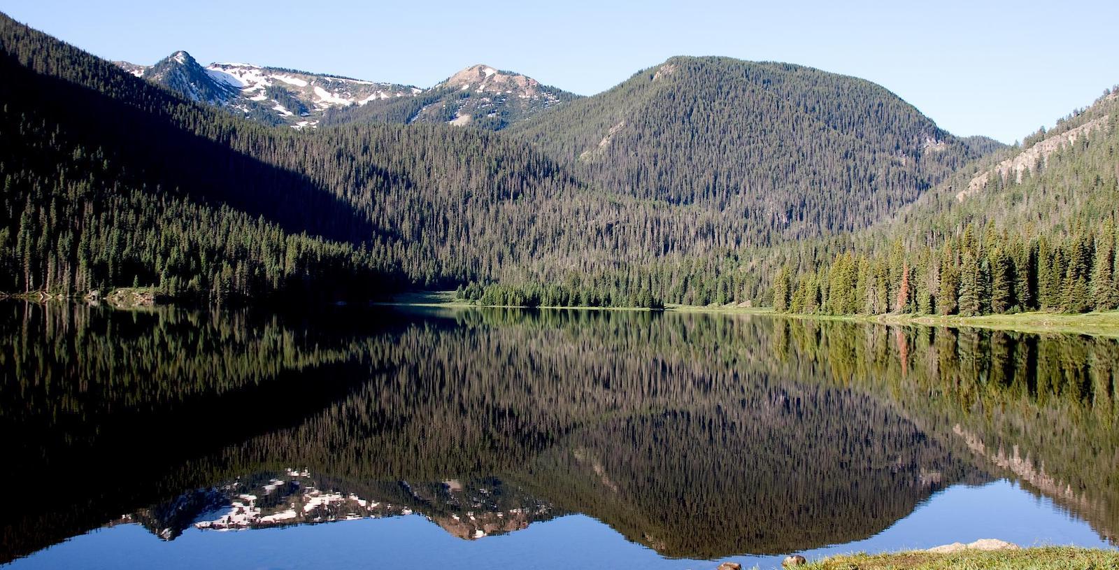 Big Meadows Reservoir Colorado