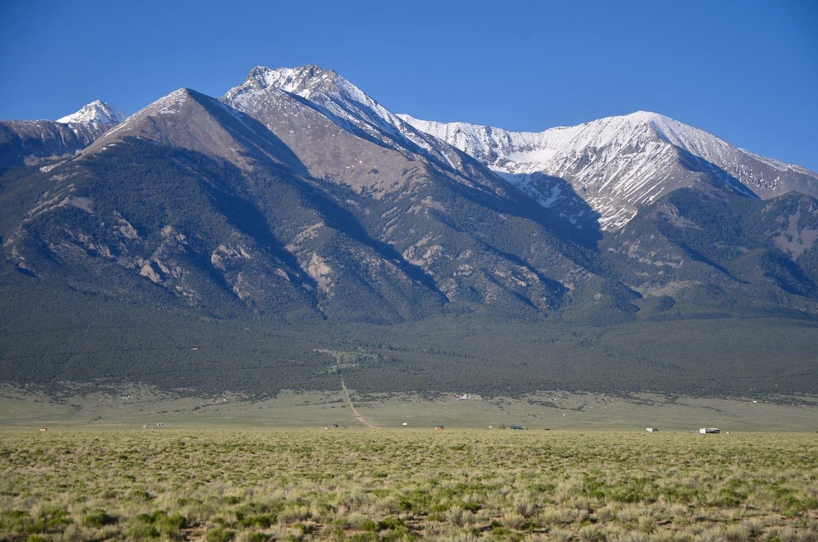 Puncak Blanca Pegunungan Sangre de Cristo Colorado