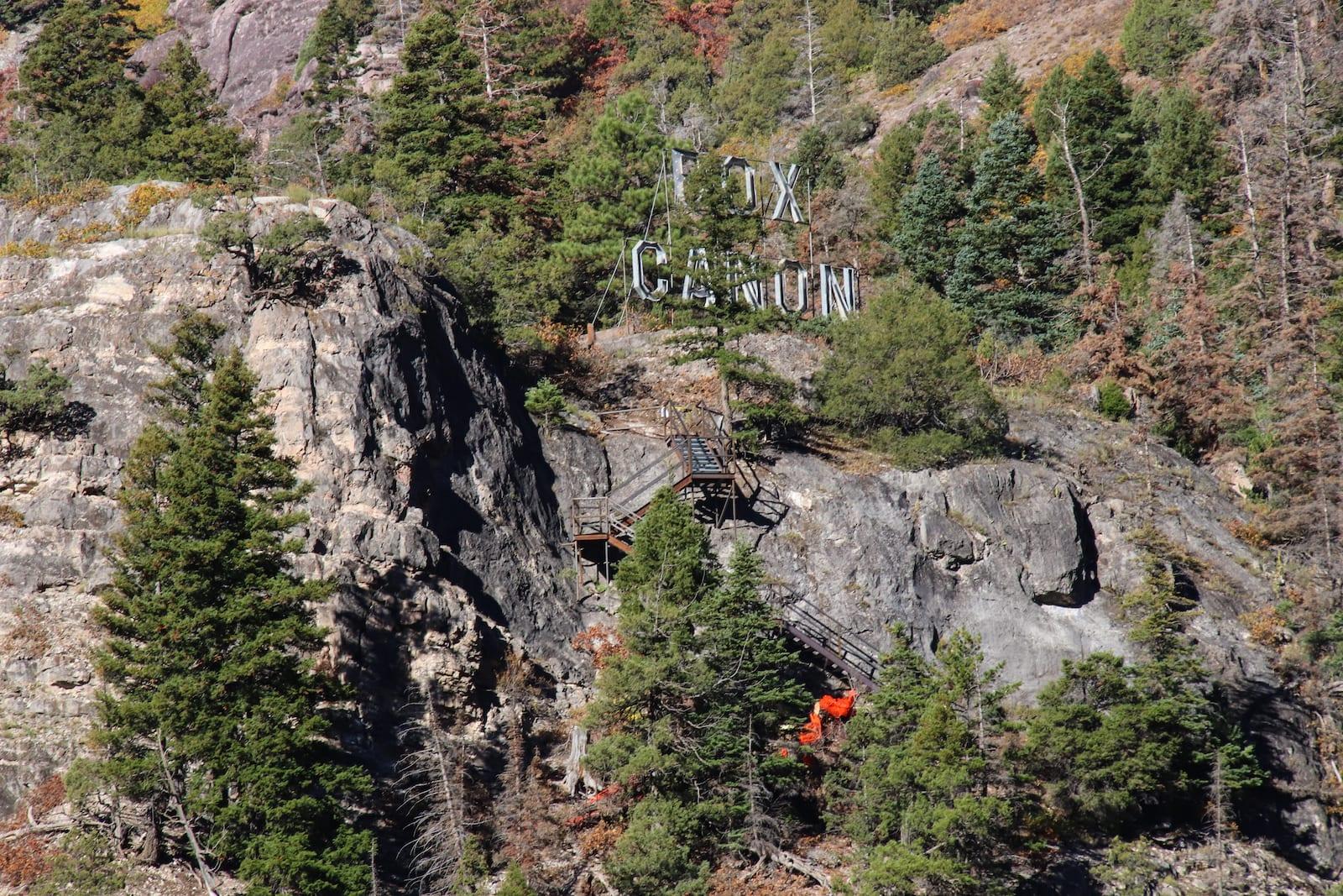 Box Canyon Falls Hiking Ouray CO