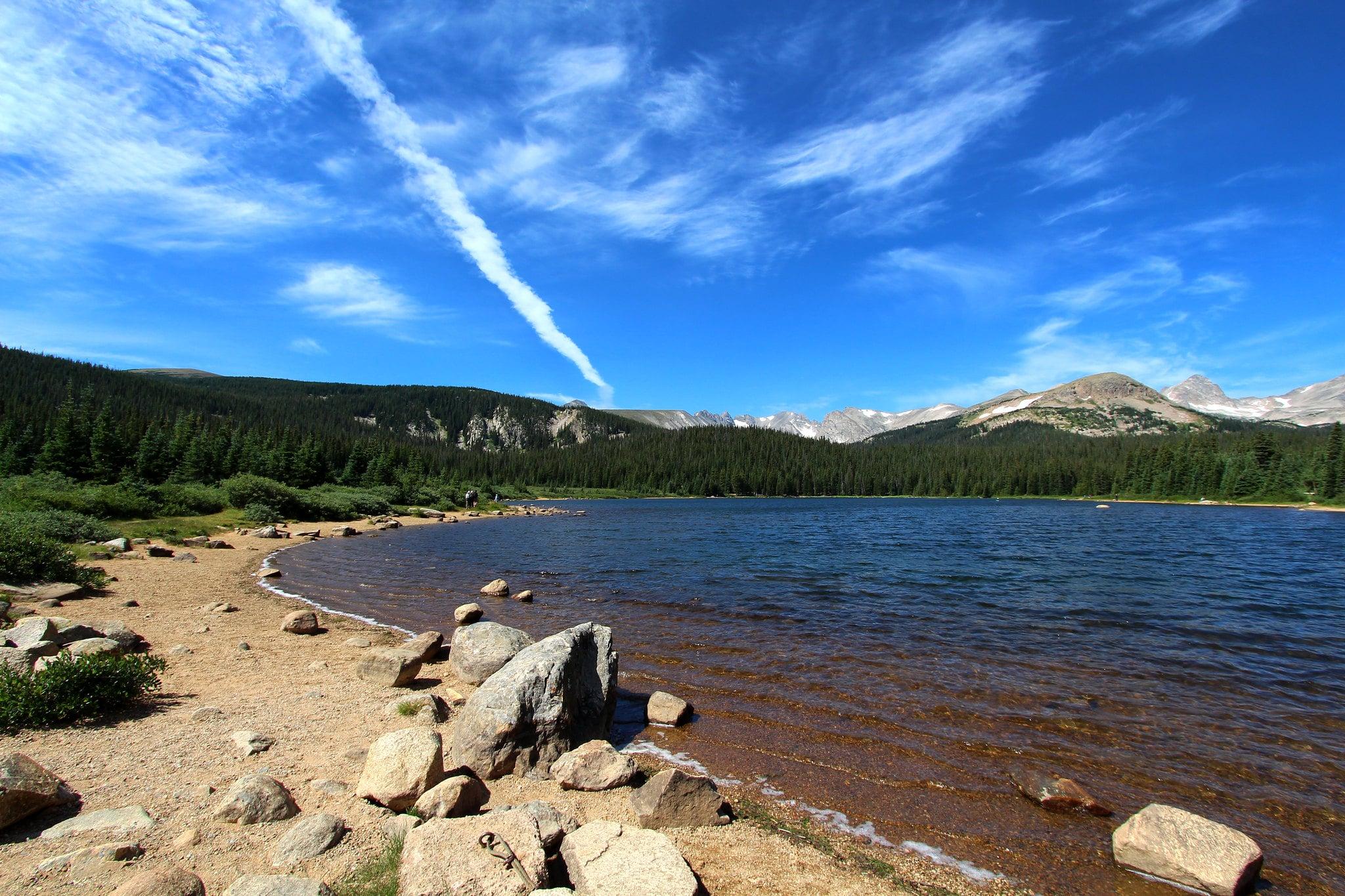 image of brainard lake