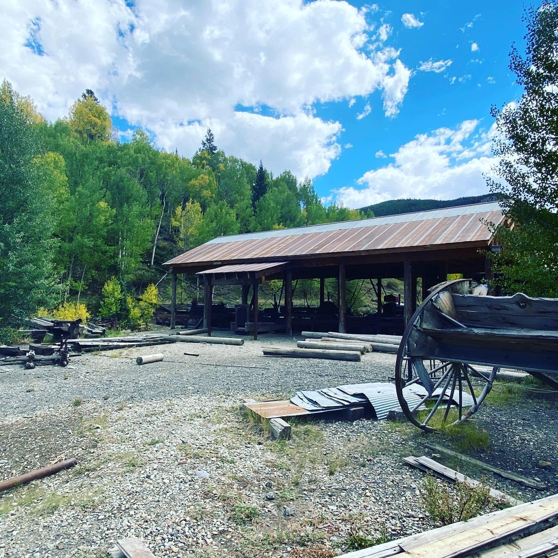 Image of the Breckenridge Sawmill Museum in Colorado