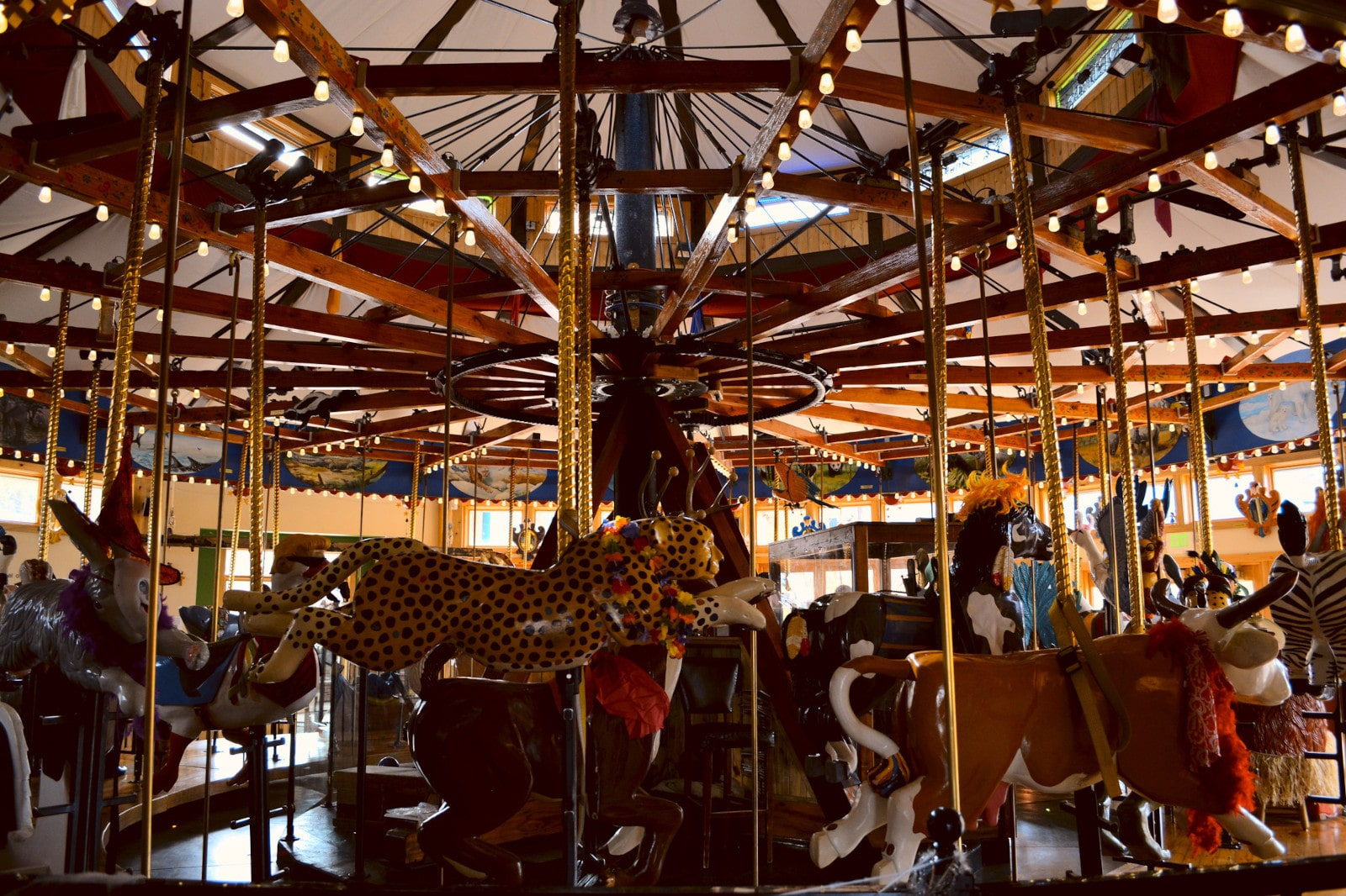 Image of the Carousel of Happiness in Nederland, Colorado