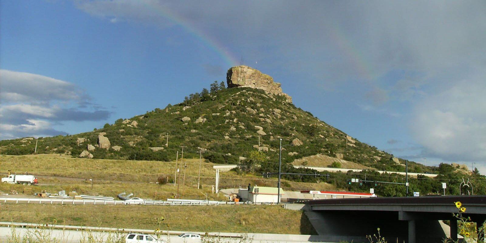Castle Rock Colorado Highway I-25