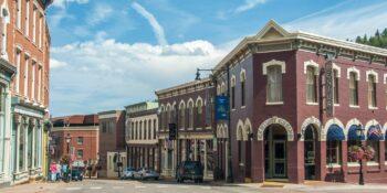 image of central city colorado