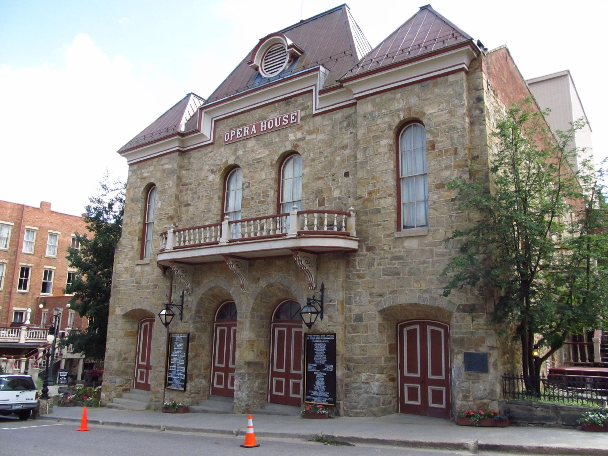image of central city opera house