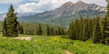 Cliff Creek Trail Gunnison County Colorado