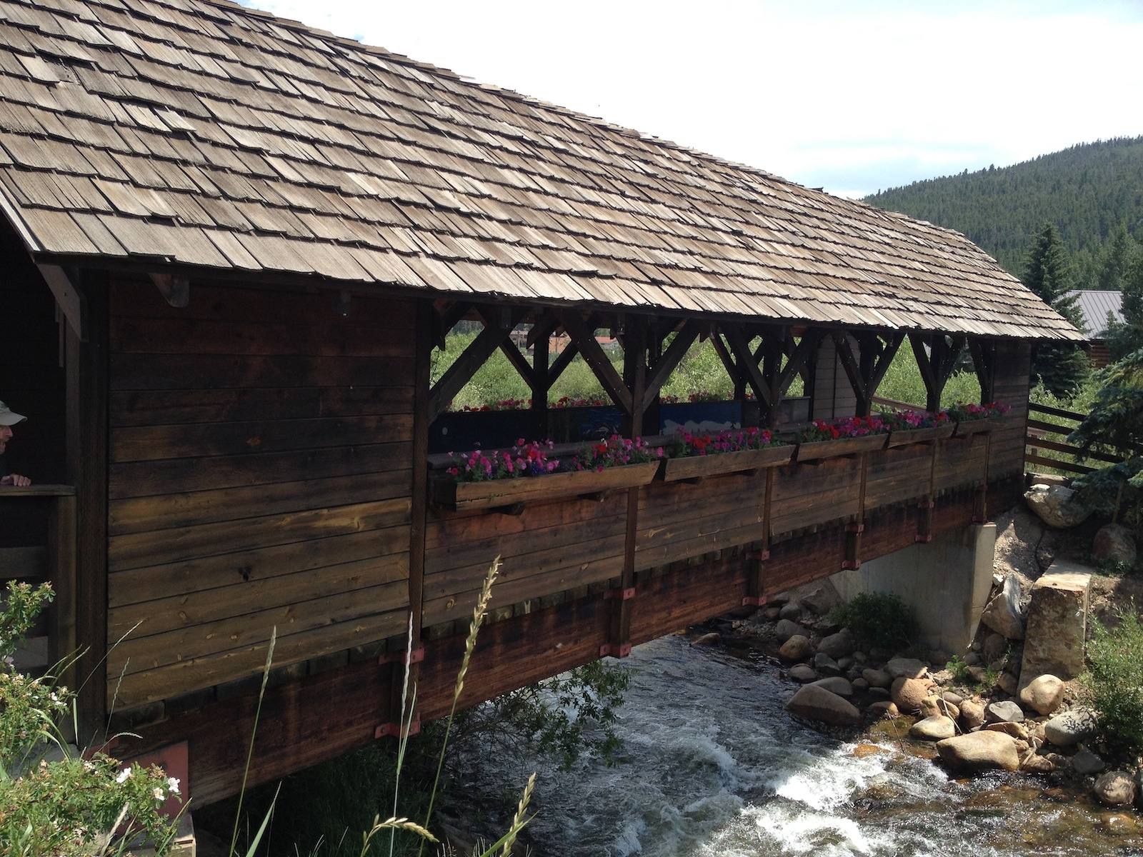 Nederland CO Covered Wood Bridge