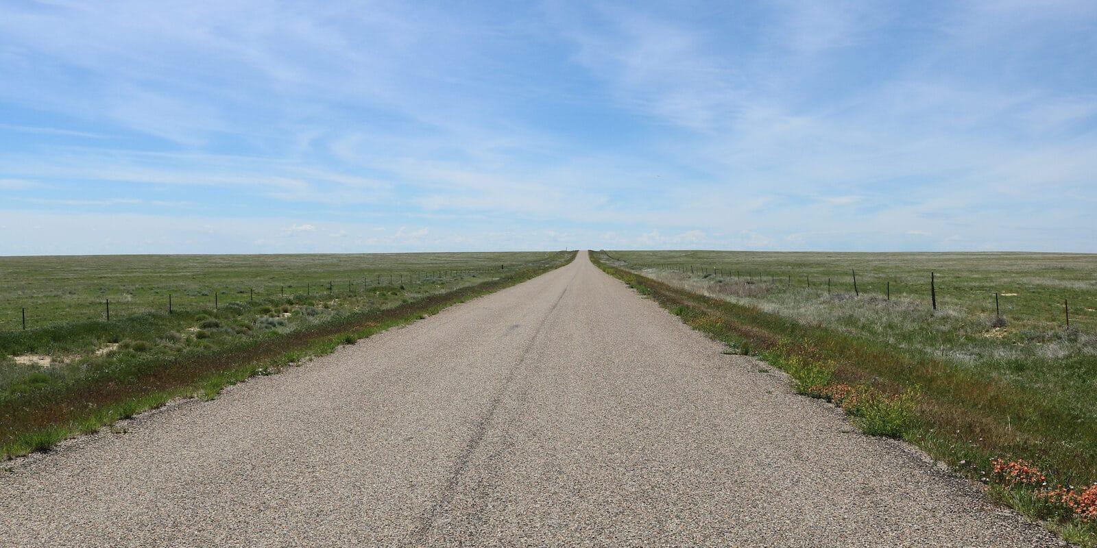 Crowley County Colorado Open Road