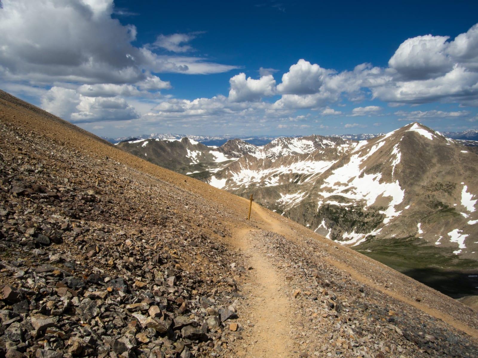 Decalibron Hiking Trail Loop Colorado