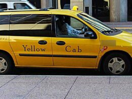 Denver Yellow Cab Van
