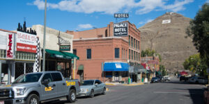 Downtown Salida CO S Mountain