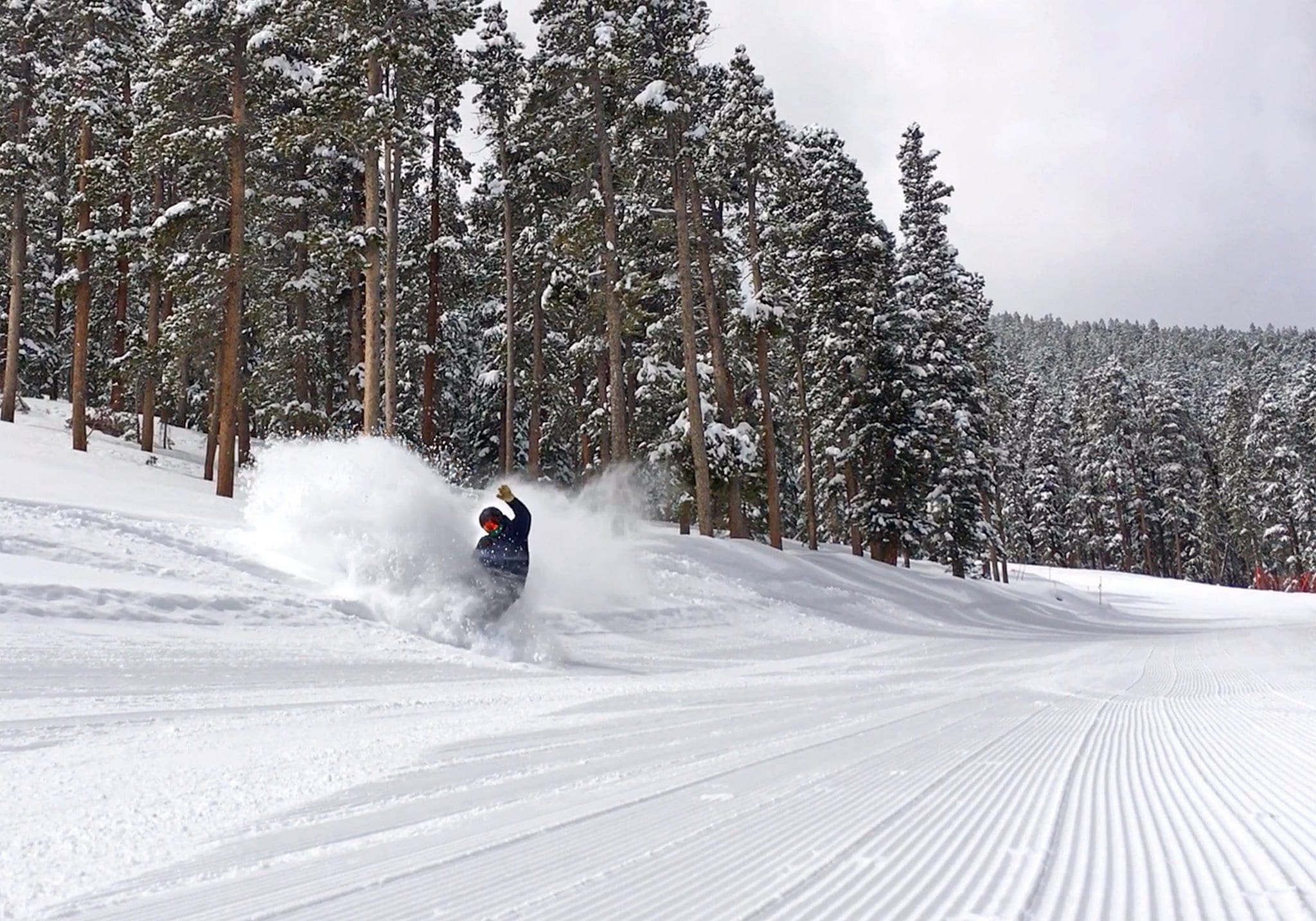 image of boarder at echo mountain