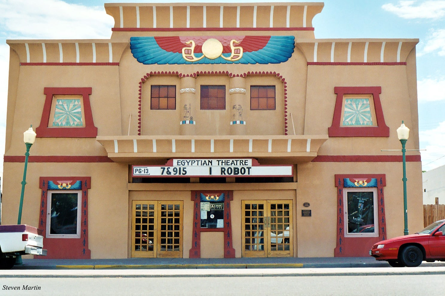 image of the egyptian theatre in delta