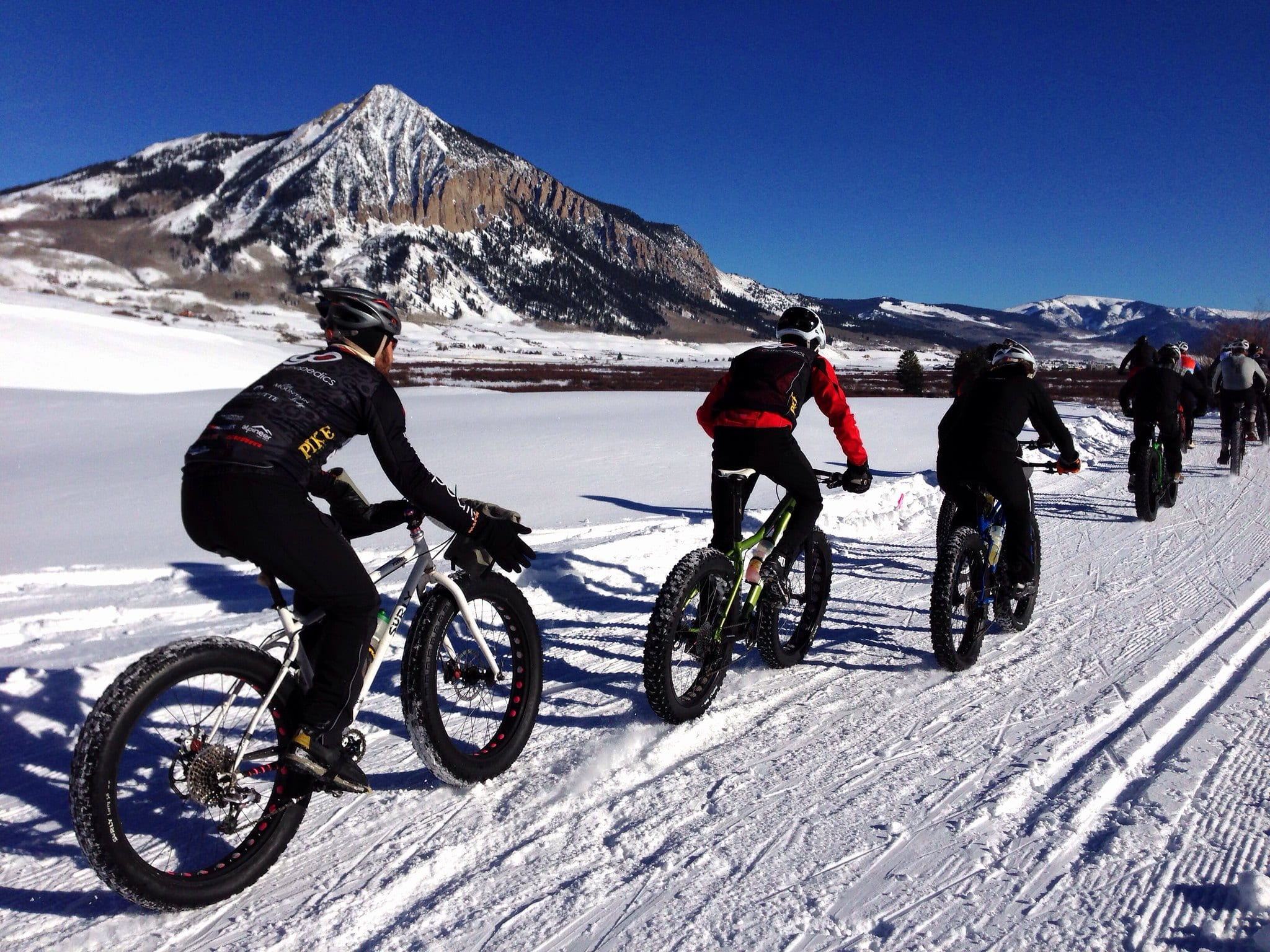 image of fat biking in crested butte