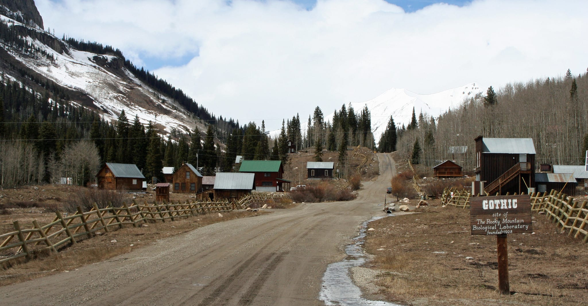 image of ghost town of gothic