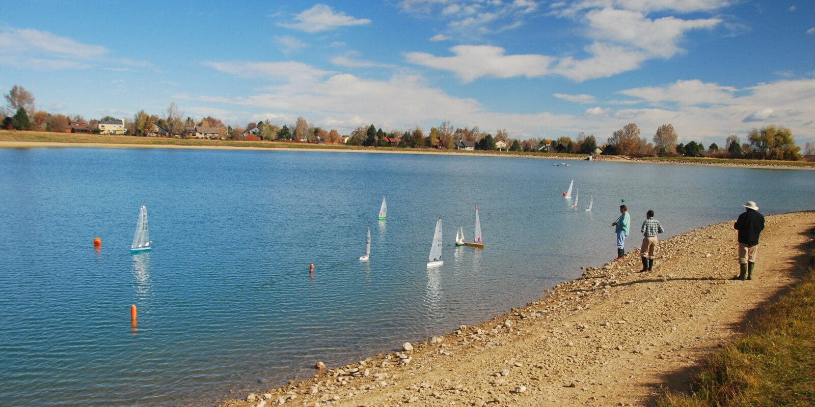 Image of the Harper Lake in Louisville, Colorado