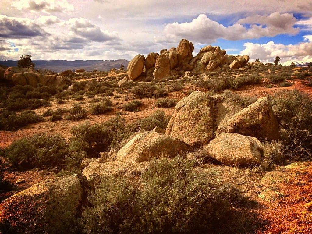 Image of the Hartman Rock Recreation Area in Gunnison, Colorado