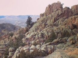 """Image of the """"the Notch"""" at the Hartman Rock Recreation Area in Gunnison, Colorado"""