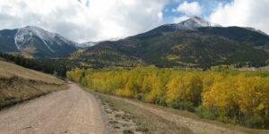 Hiking Rainbow Trail Westcliffe CO