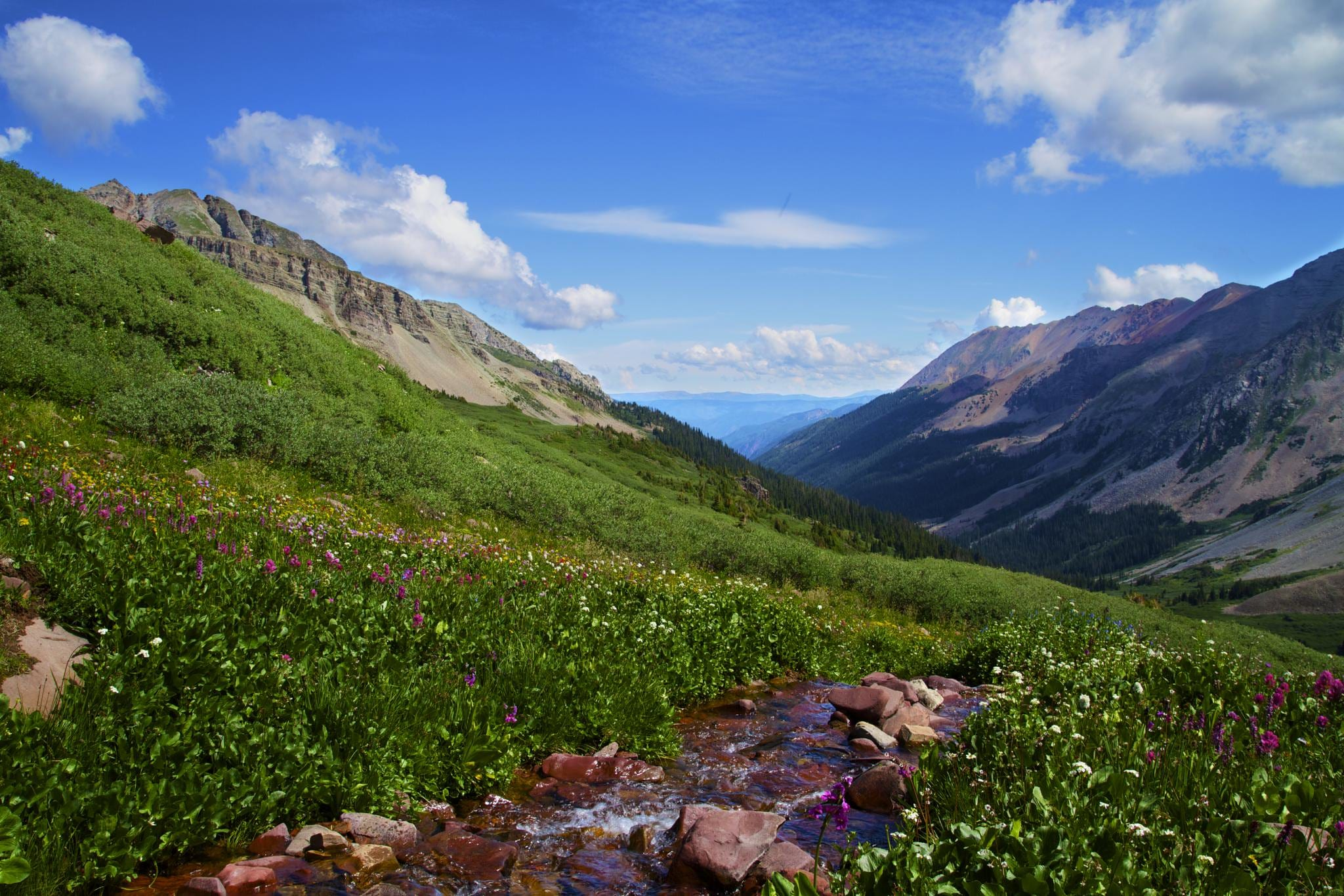 image of hiking in crested butte