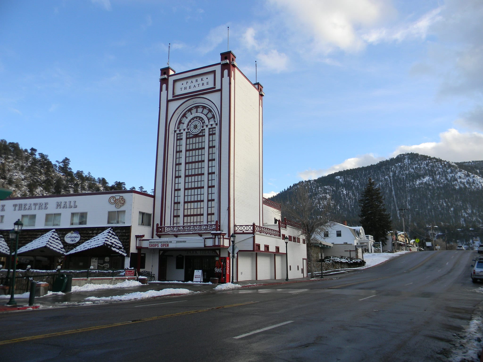 image of historic park theatre