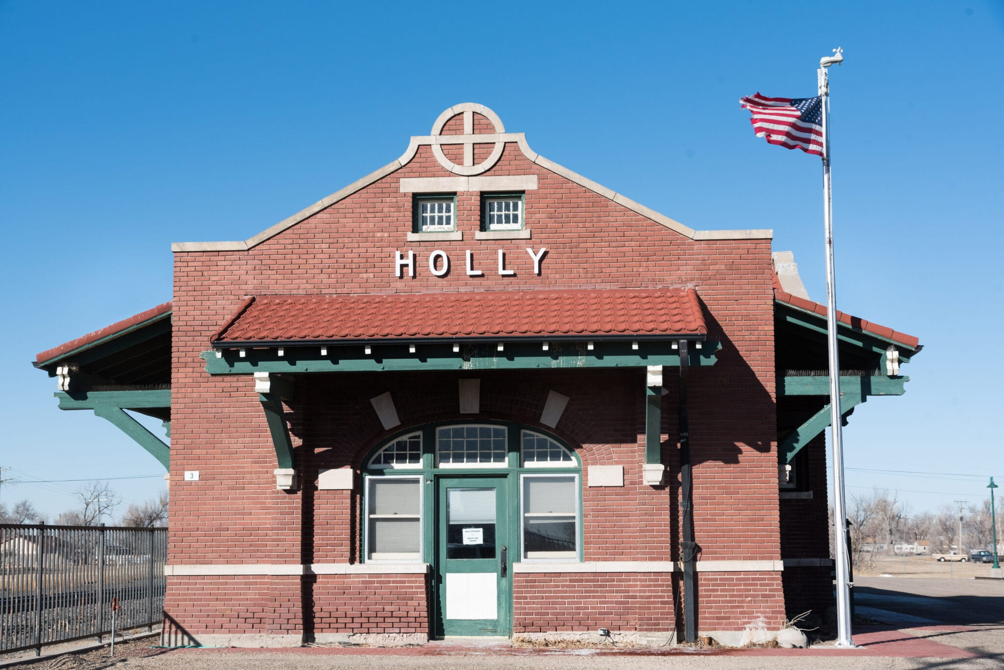 image of holly train depot