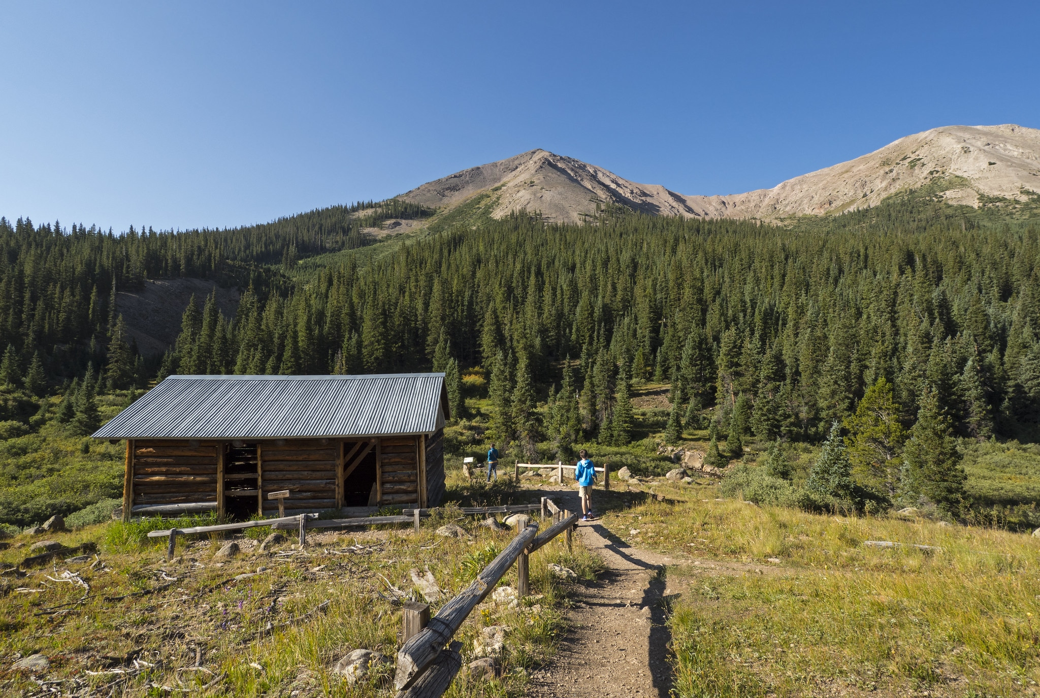 image of independence ghost town
