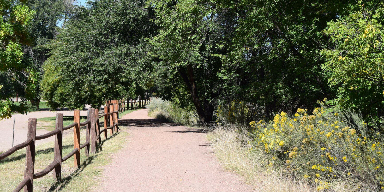 Image of a trail at the John Griffin Regional Park in Canon City, Colorado