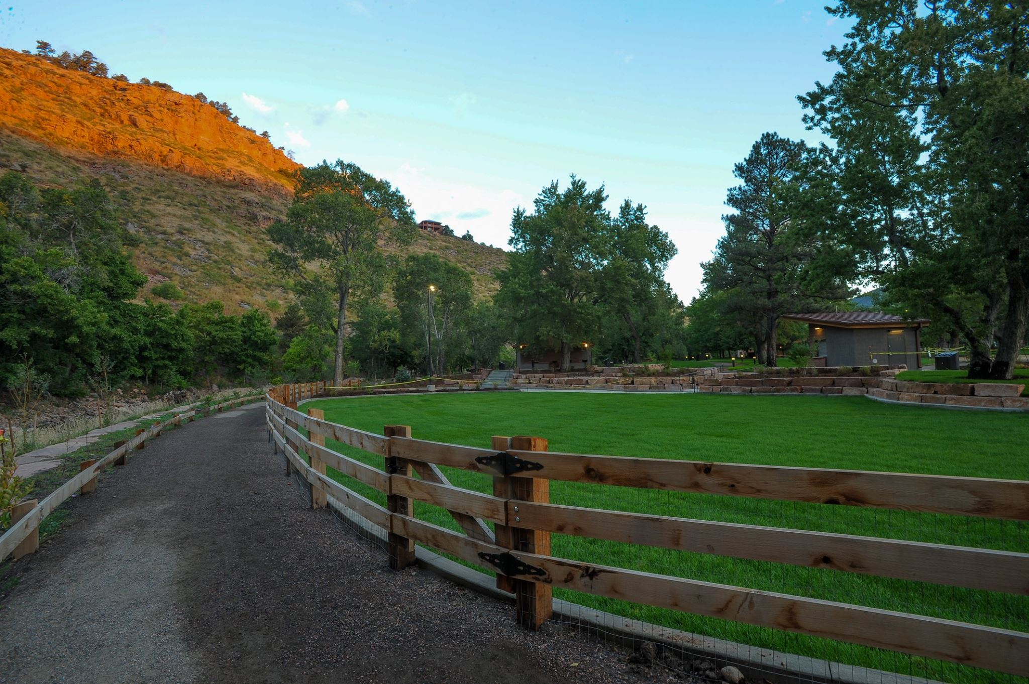 image of lavern m park in lyons
