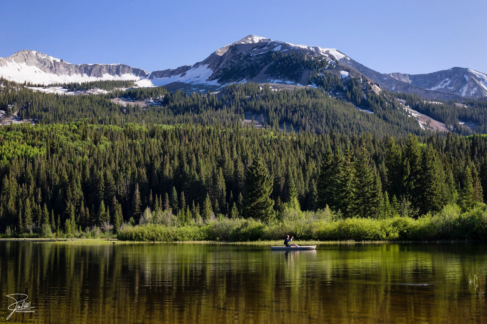 Image of Lost Lake Slough and Lost Lake Campground in Paonia, Colorado