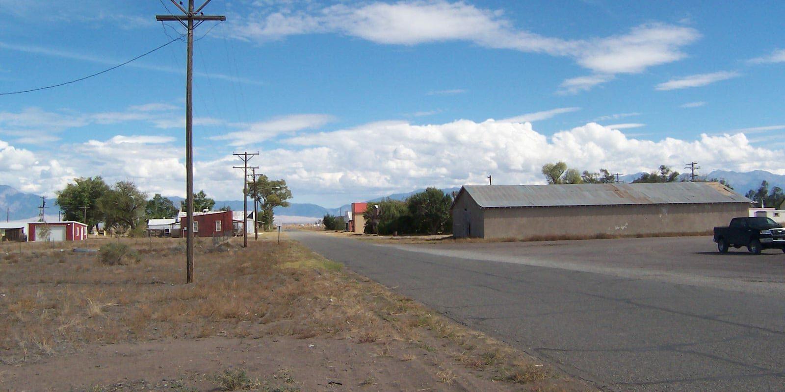 Hooper CO Main Street Highway 17