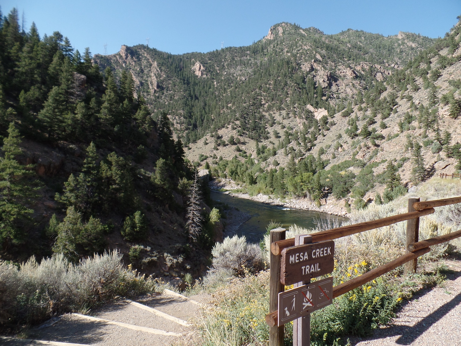 Mesa Trail at Curecanti National Recreation Area