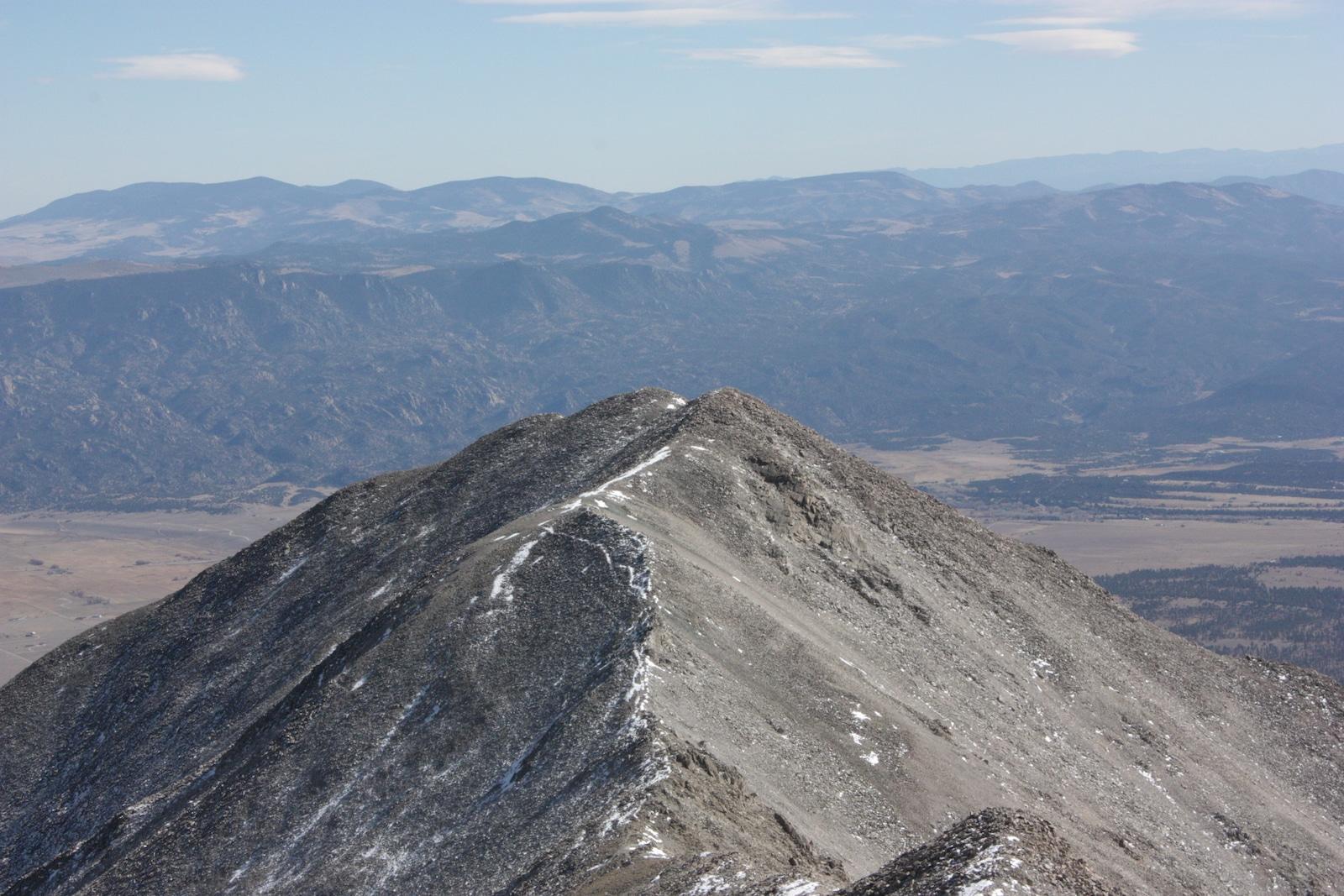 Mount Princeton Hiking Chaffee County Colorado