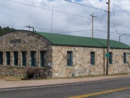 Image of the exterior of the Nederland Mining Museum in Colorado