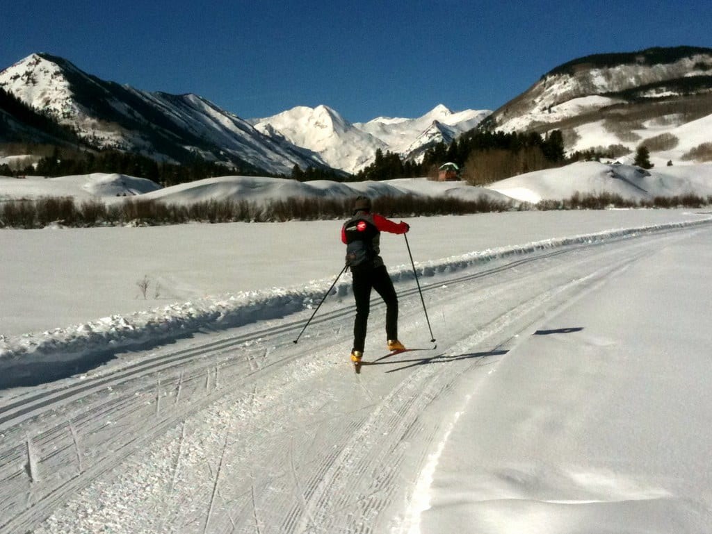 image of nordic skiing in crested butte