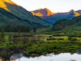 Image of the Oh Be Joyful Recreation Area and Campground in Crested Butte, Colorado