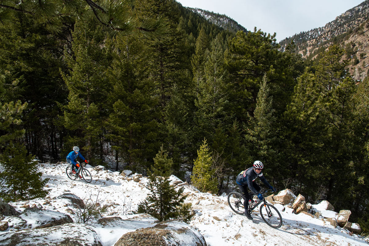 image of bikers at old man winter