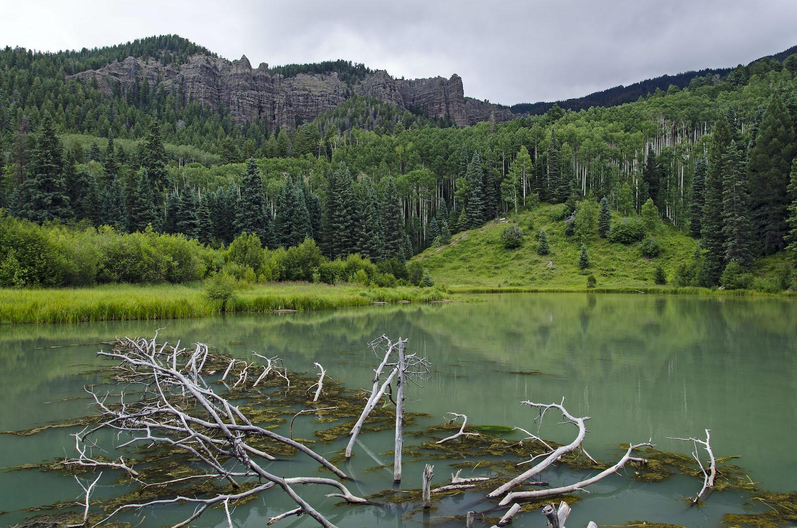 Opal Lake Hike Pagosa Springs CO