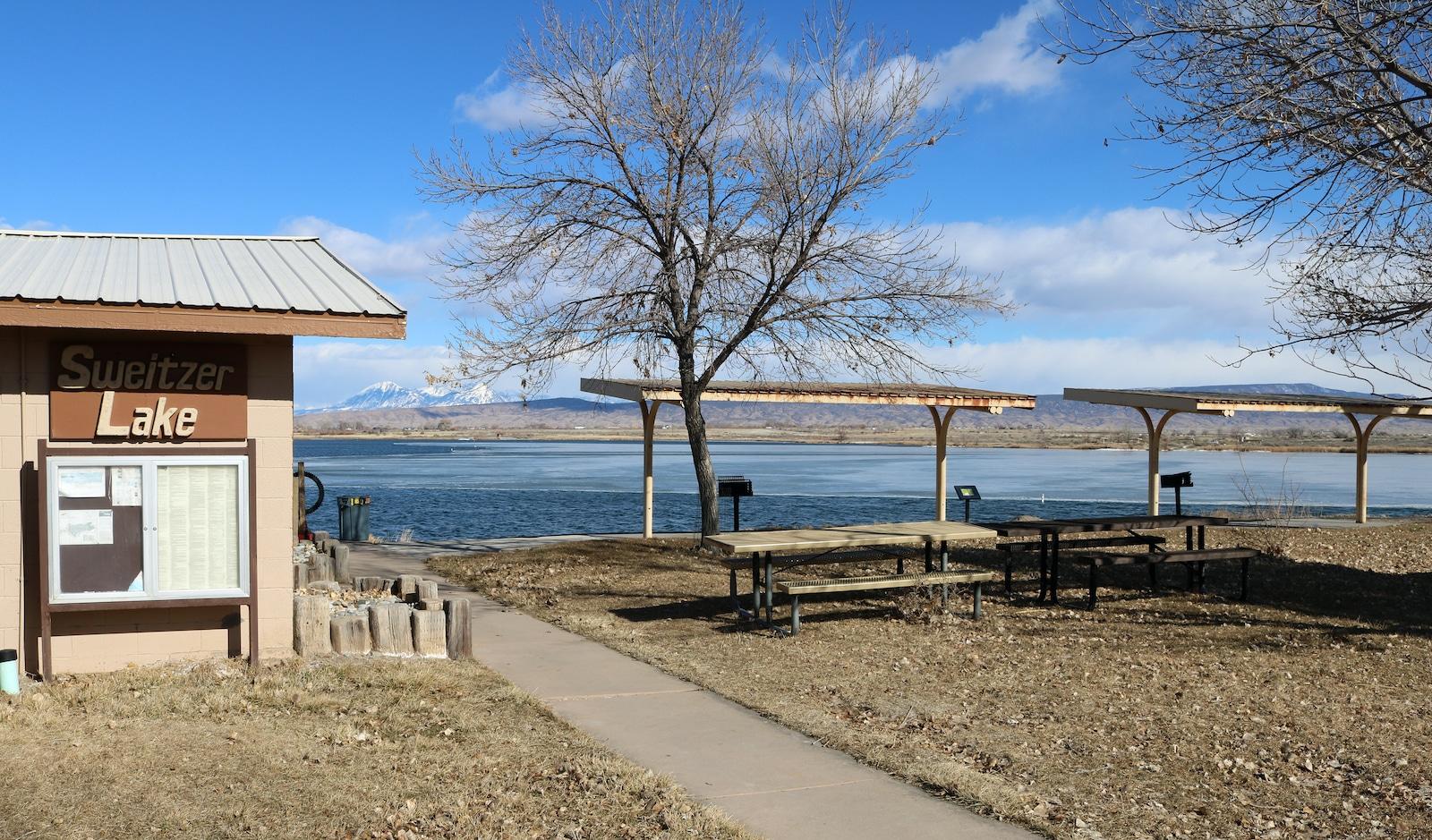 Sweitzer Lake Delta Colorado