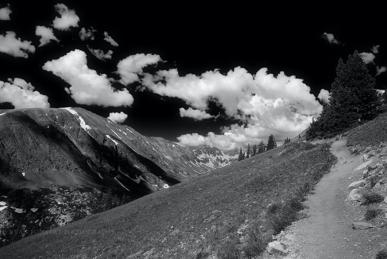 Quandary Peak Hiking Trail Colorado